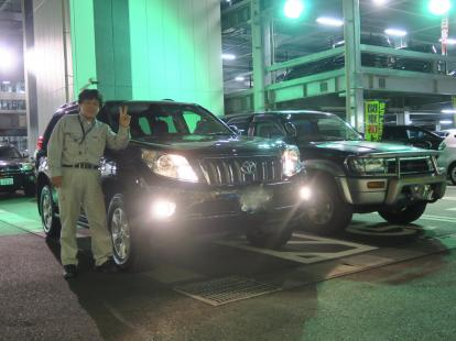 ☆祝☆彡ご納車 トヨタ ランドクルーザープラド CBA-TRJ150W