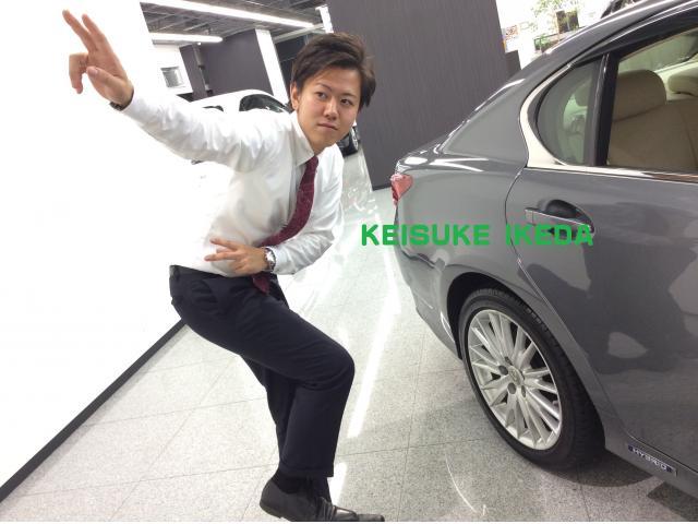 ネクステージのスタッフ写真 カーライフアドバイザー 池田 圭介