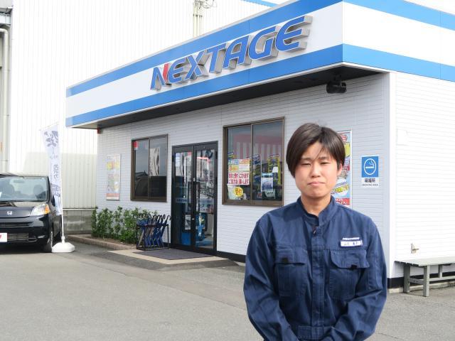 ネクステージのスタッフ写真 メカニック 山川 恵子