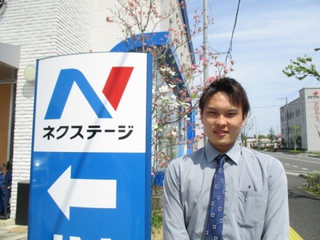 ネクステージのスタッフ写真 カーライフアドバイザー 山田 祥平