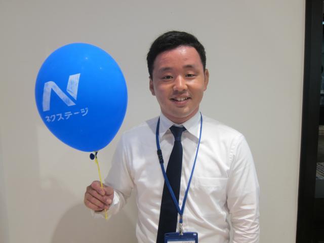 ネクステージのスタッフ写真 カーライフアドバイザー 東野 淳平