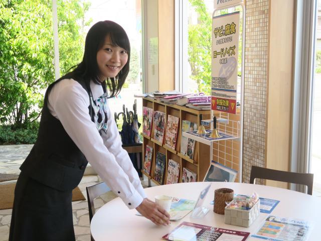 ネクステージのスタッフ写真 事務 藤吉 遥香
