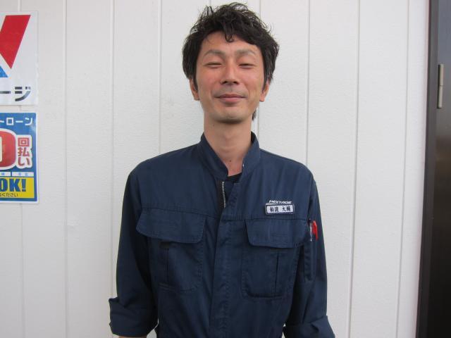 ネクステージのスタッフ写真 工場長 船渡 大輔