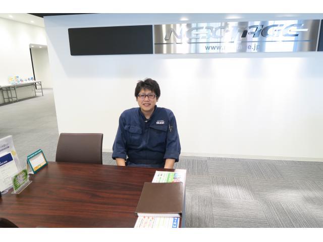 ネクステージのスタッフ写真 メカニック 冬澤 雄太