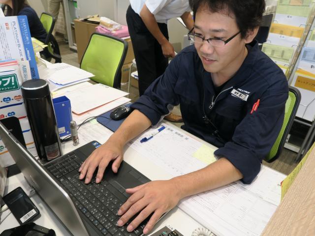 ネクステージのスタッフ写真 工場長 田中 陽二