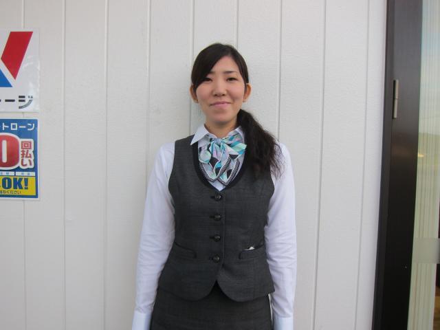 ネクステージのスタッフ写真 サービスフロント 眞壁 美帆