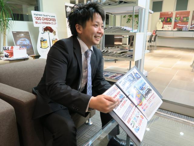 ネクステージのスタッフ写真 カーライフアドバイザー 独活山 寿史