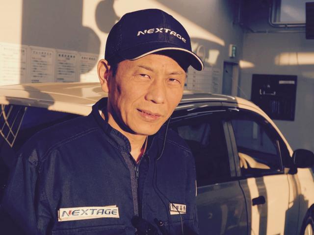 ネクステージのスタッフ写真 メカニック 野田高秀