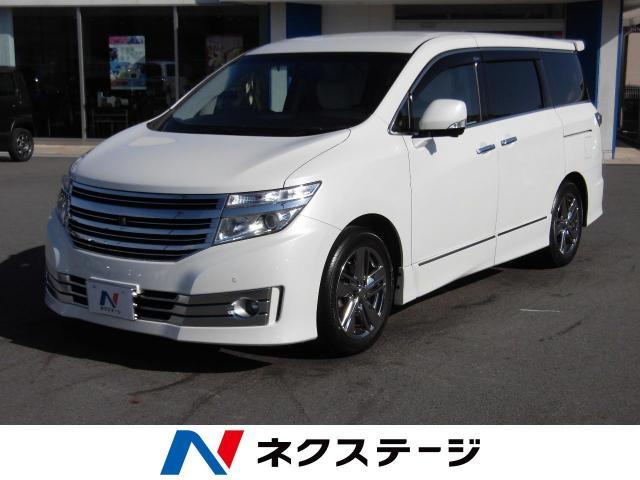 NISSANELGRAND RIDER WHITE LEATHER SEAT POWER SEAT