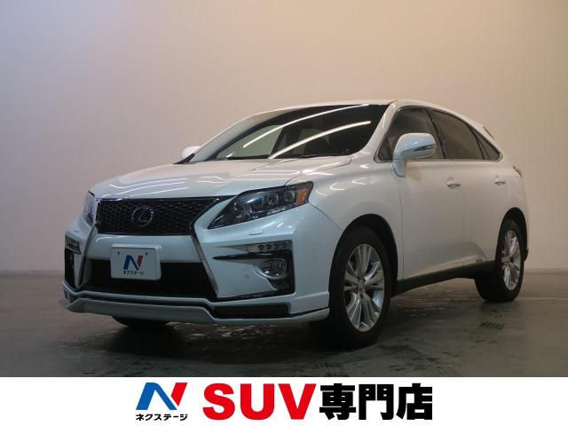 LEXUSRX RX450H VERSION L AIR SUSPENSION