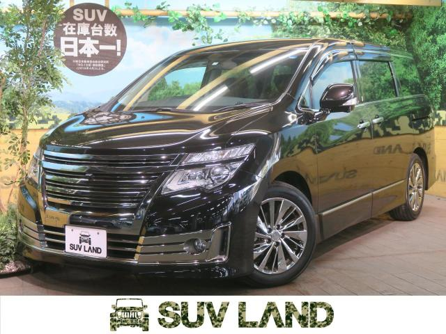 NISSANELGRAND RIDER BLACK LINE BLACK LEATHER SEAT