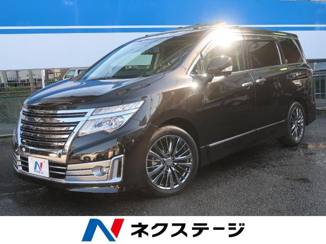 NISSANELGRAND RIDER HIGH PERFORMANCE SPEC BLACK LEATHER SEAT