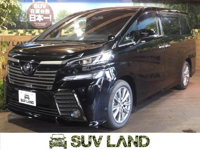 TOYOTAVELLFIRE 2.5Z A EDITION GOLDEN EYES