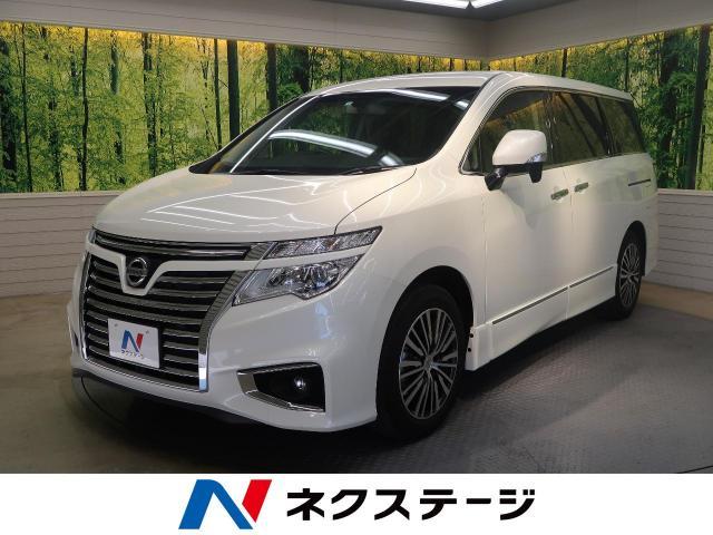 Nissan Elgrand 250highway Star S Dba Te52 Color White 10km 20 819