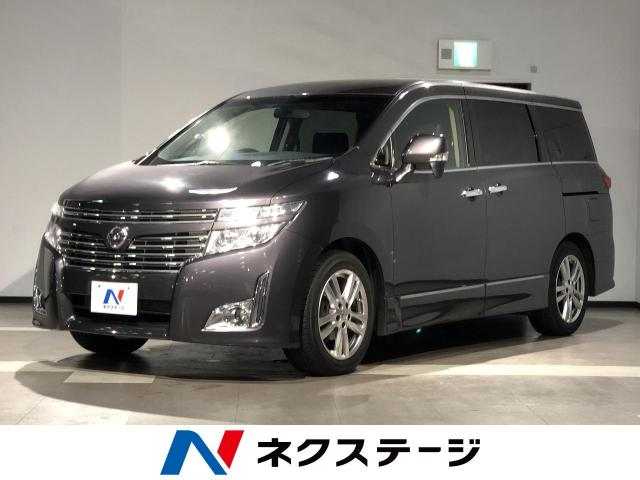 NISSANELGRAND 250HIGHWAY STAR BLACK LEATHER