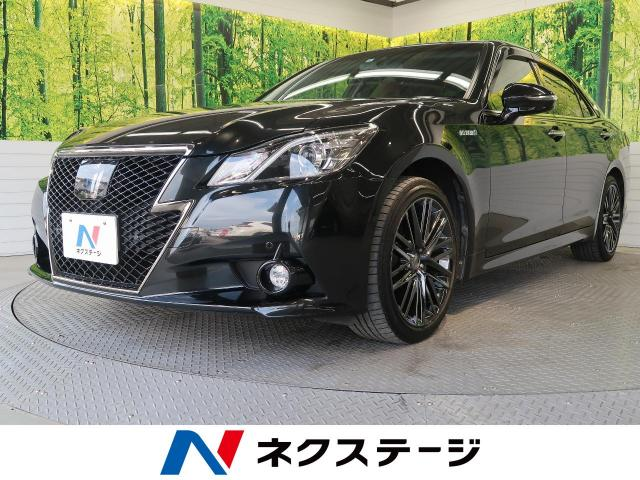 TOYOTACROWN HYBRID ATHLETE S FOUR BLACK STYLE