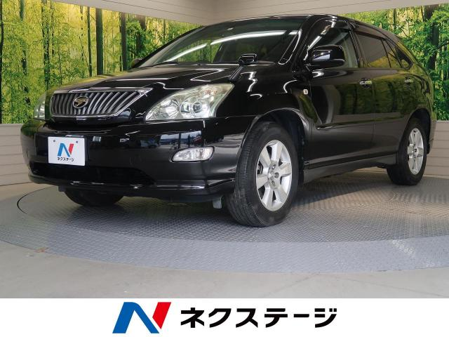 Toyota Harrier 240g L Package Limited Cba Acu30w Color Black