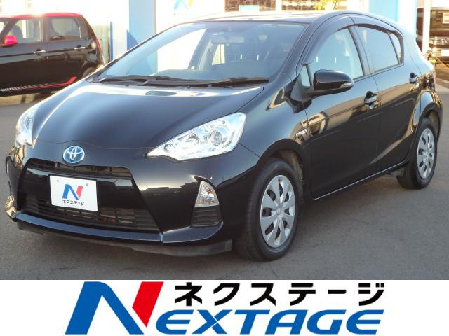 TOYOTAAQUA G BLACK SOFT LEATHER SELECTION