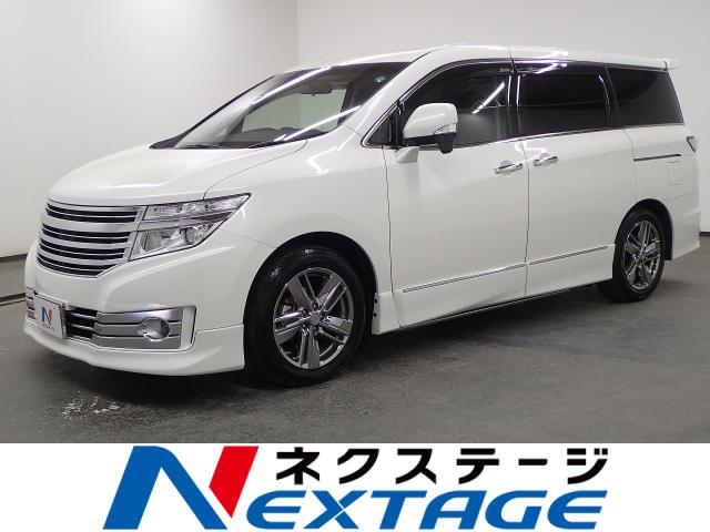 NISSANELGRAND RIDER BLACK LEATHER SEAT MANUAL SEAT