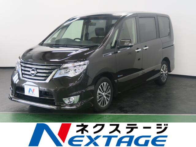 NISSANSERENA HIGHWAY STAR V AERO MODE +SAFETY S-HYBRID ADVANCED SAFETY PACKAGE
