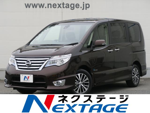 NISSANSERENA HIGHWAY STAR V SELECTION +SAFETY S-HYBRID ADVANCED SAFETY PACKAGE