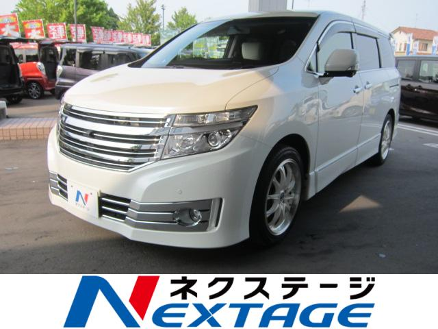 NISSANELGRAND RIDER WHITE LEATHER SEAT MANUAL SEAT
